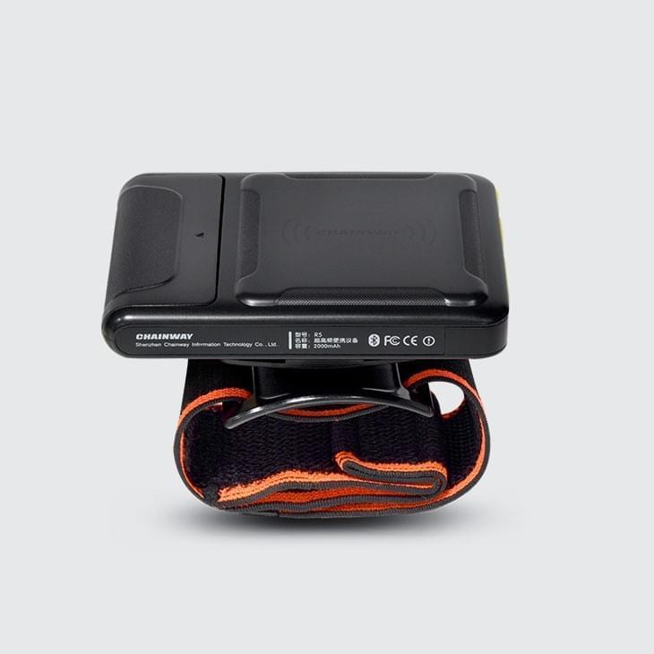 R5 nositelná BT RFID čtečka