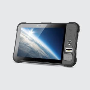 P80 tablet s optickým snímačem otisků